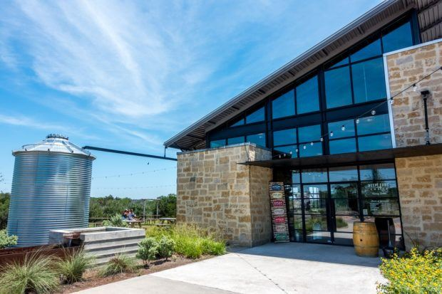 Deep Eddy Distillery in Dripping Springs, Texas