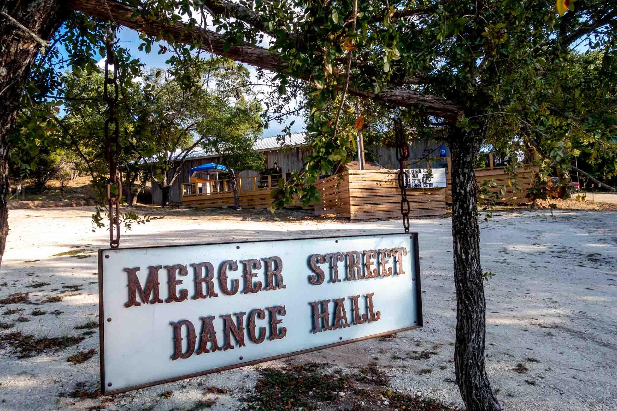 Mercer Street Dance Hall