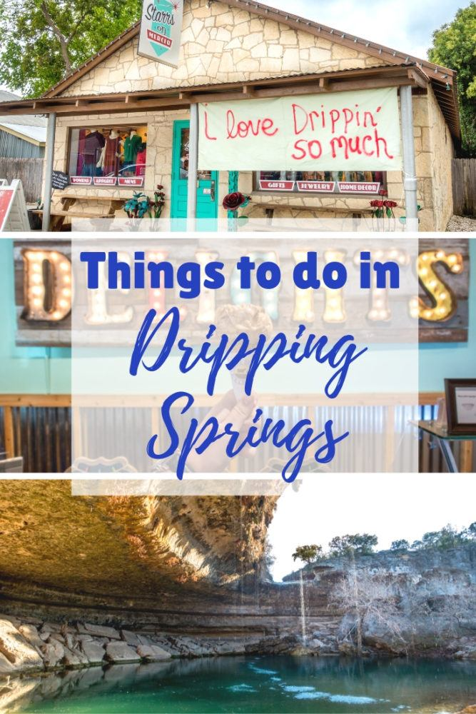 Eating, Drinking, and Getting Outdoors in Dripping Springs