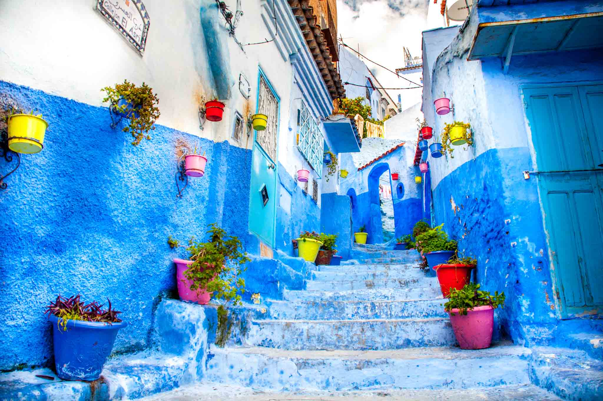 Morocco travel is full of highlights like the blue city, Chefchaouen