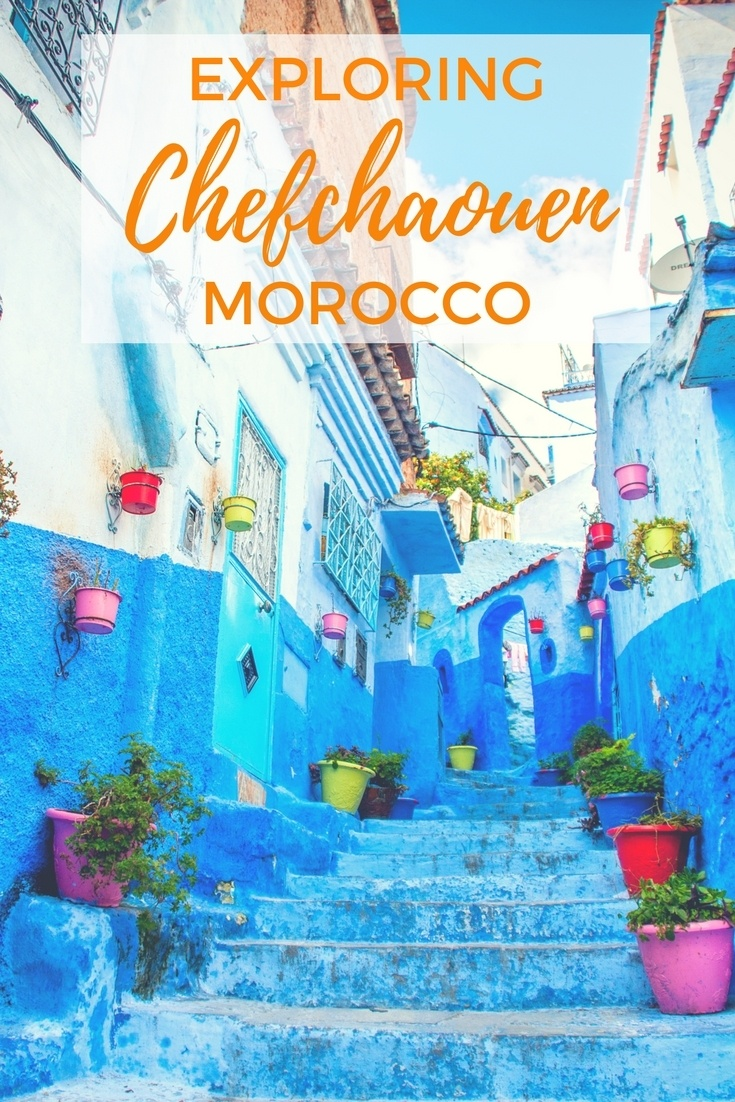 Chefchaouen is Morocco's blue city. Painted every shade--from baby blue to deep navy--this city is a mountain retreat and photographer's dream.