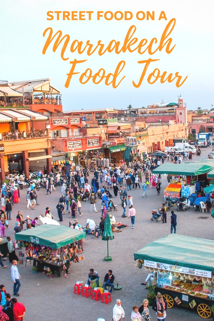 A Marrakech food tour is a great way to explore the medina with locals and try traditional Moroccan foods you'd never find on your own.