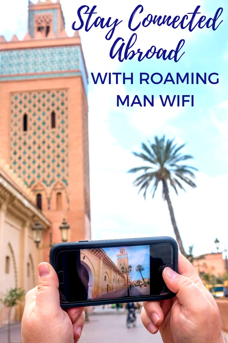 How can you use your phone abroad without expensive roaming charges? Click to read our Roaming Man travel wifi review to learn how you can get internet coverage worldwide with just one device.  #wifi #travel