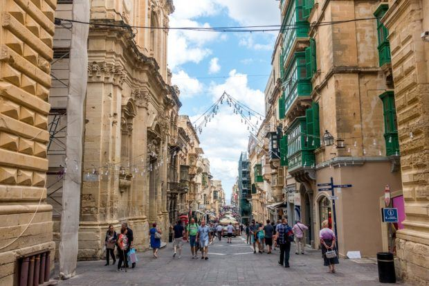 Make sure your Malta itinerary includes time to wander the streets of Valletta
