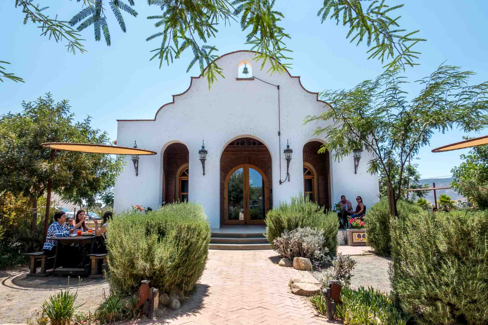 Adobe Guadalupe winery in Valle de Guadalupe Baja California - this is one of the most popular Guadalupe Valley wineries.  It is a common stop on the tours valle de guadalupe.
