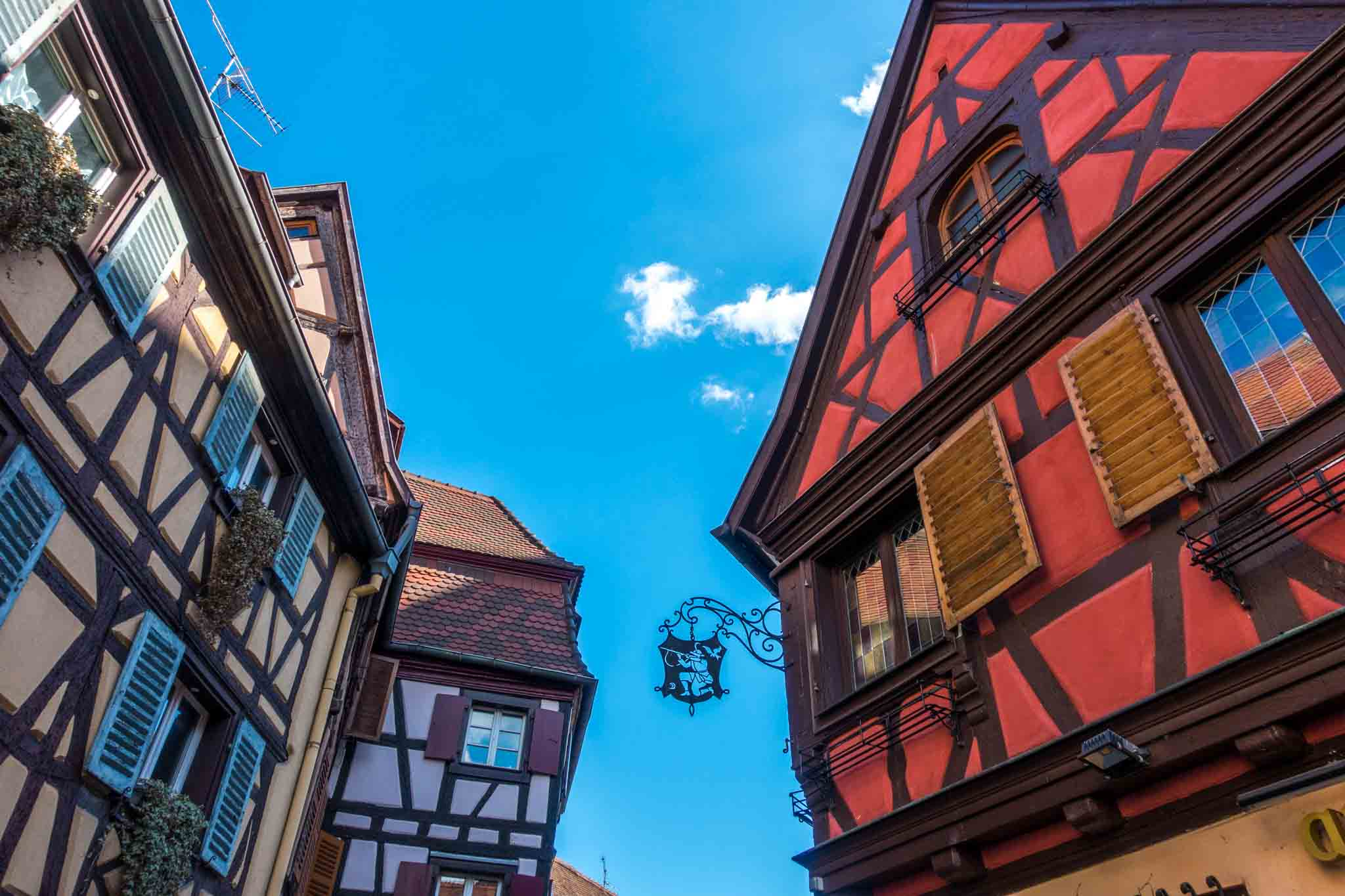 Half-timber buildings of Colmar, France