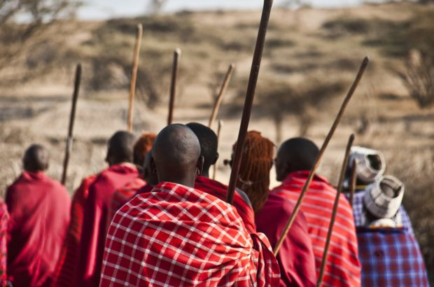 The Maasai tribe in Tanzania.
