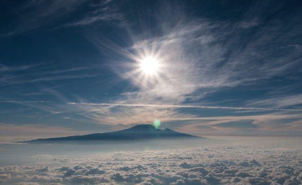Mt. Kilimanjaro in Tanzania.