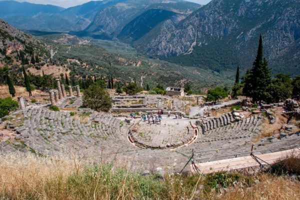 Seeing the highlights of ancient Greece on a Delphi day trip from Athens.