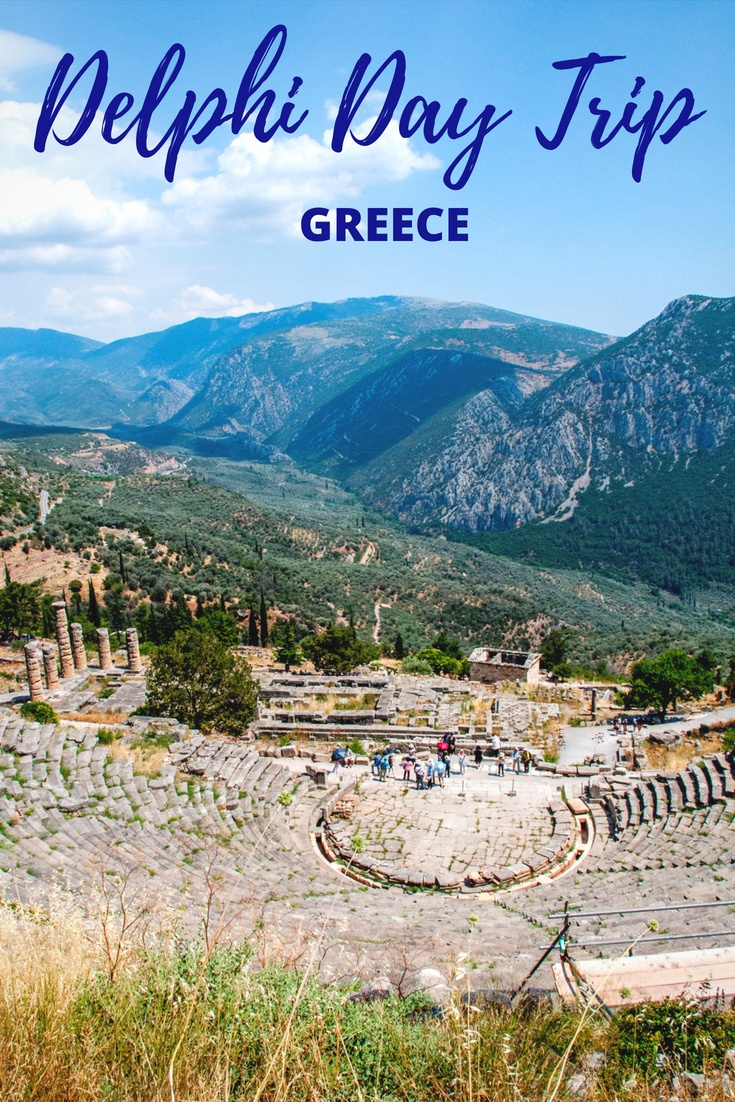 All you need to know about taking a day trip to Delphi, Greece, from Athens. Includes how to get to Delphi, what to pack for the trip, and what you'll see once you get there.