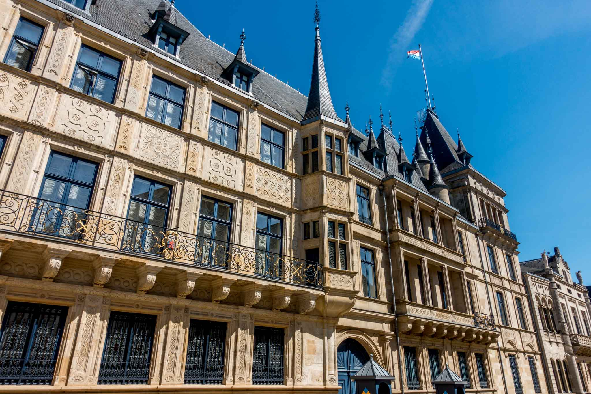 Visiting the Grand Duchal Palace is one of the most popular things to do in Luxembourg City in one day