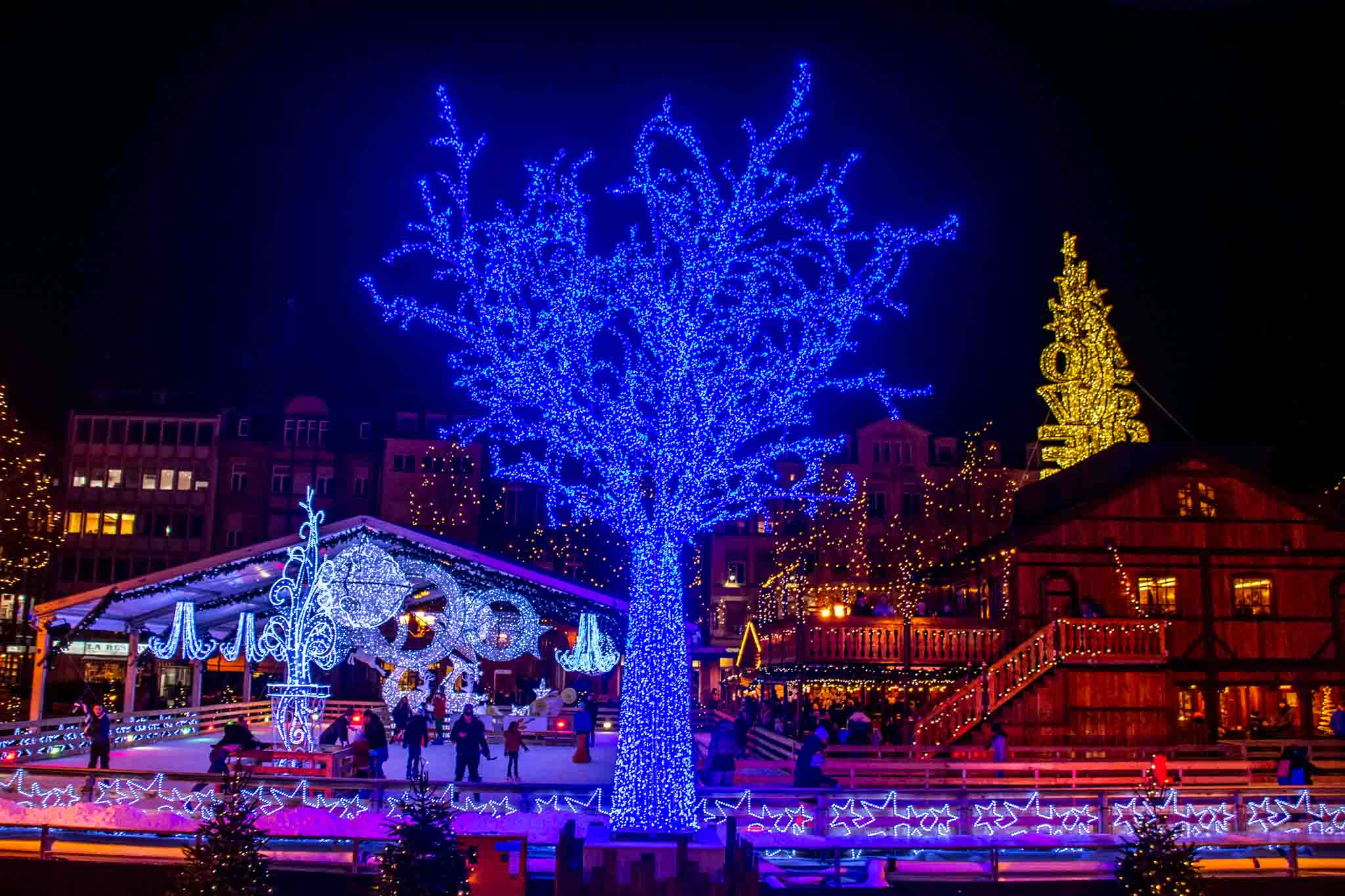 The Christmas markets are a highlight of Luxemburg sightseeing in winter