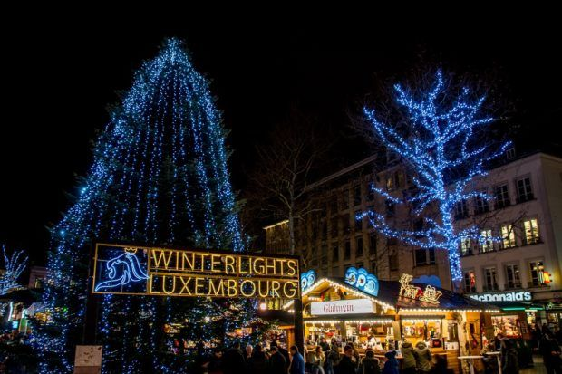 Visiting the Christmas markets is a highlight of Luxembourg travel in winter