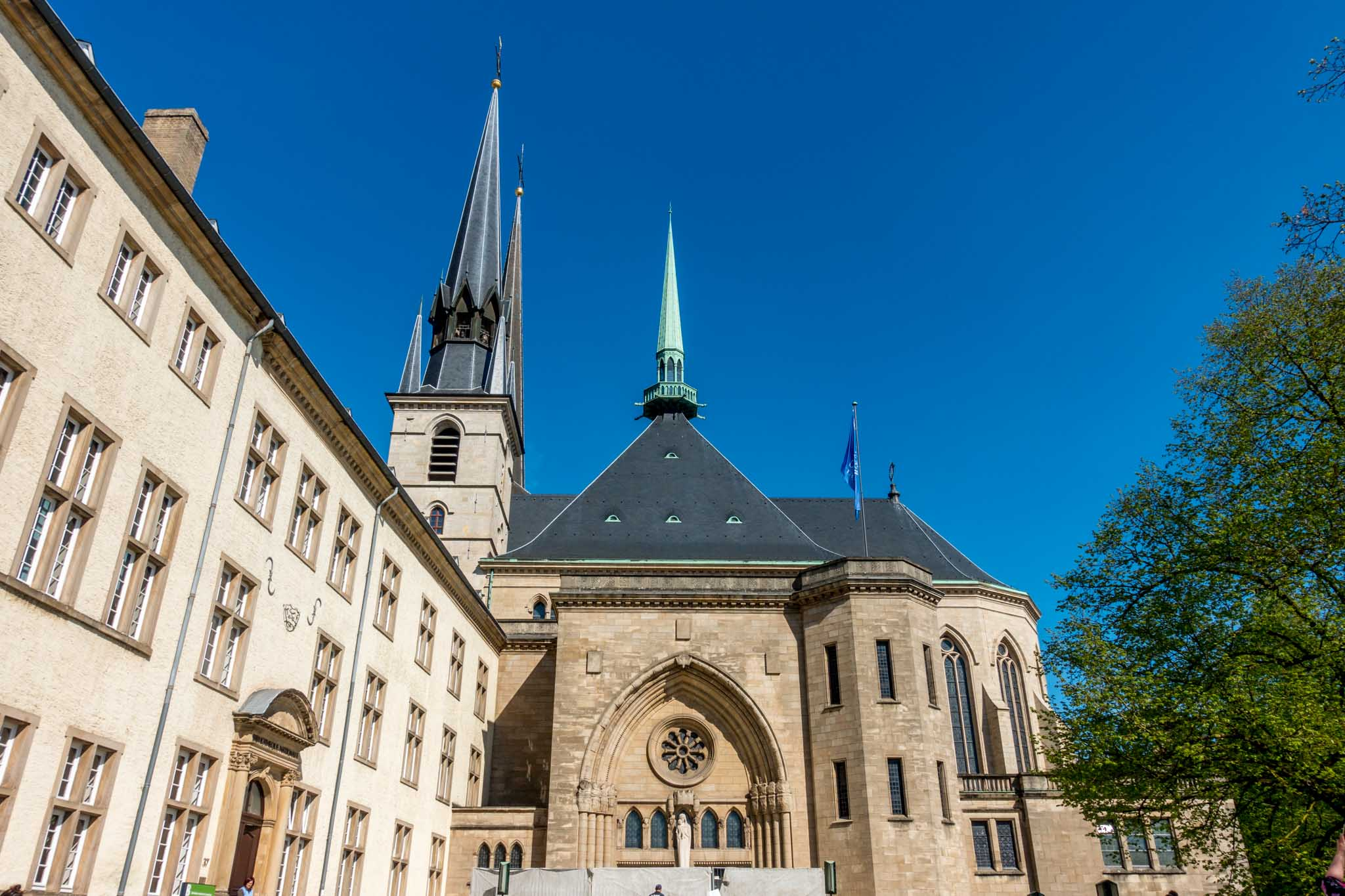 The country's only cathedral, Notre-Dame Cathedral is one of the top Luxembourg tourist attractions.