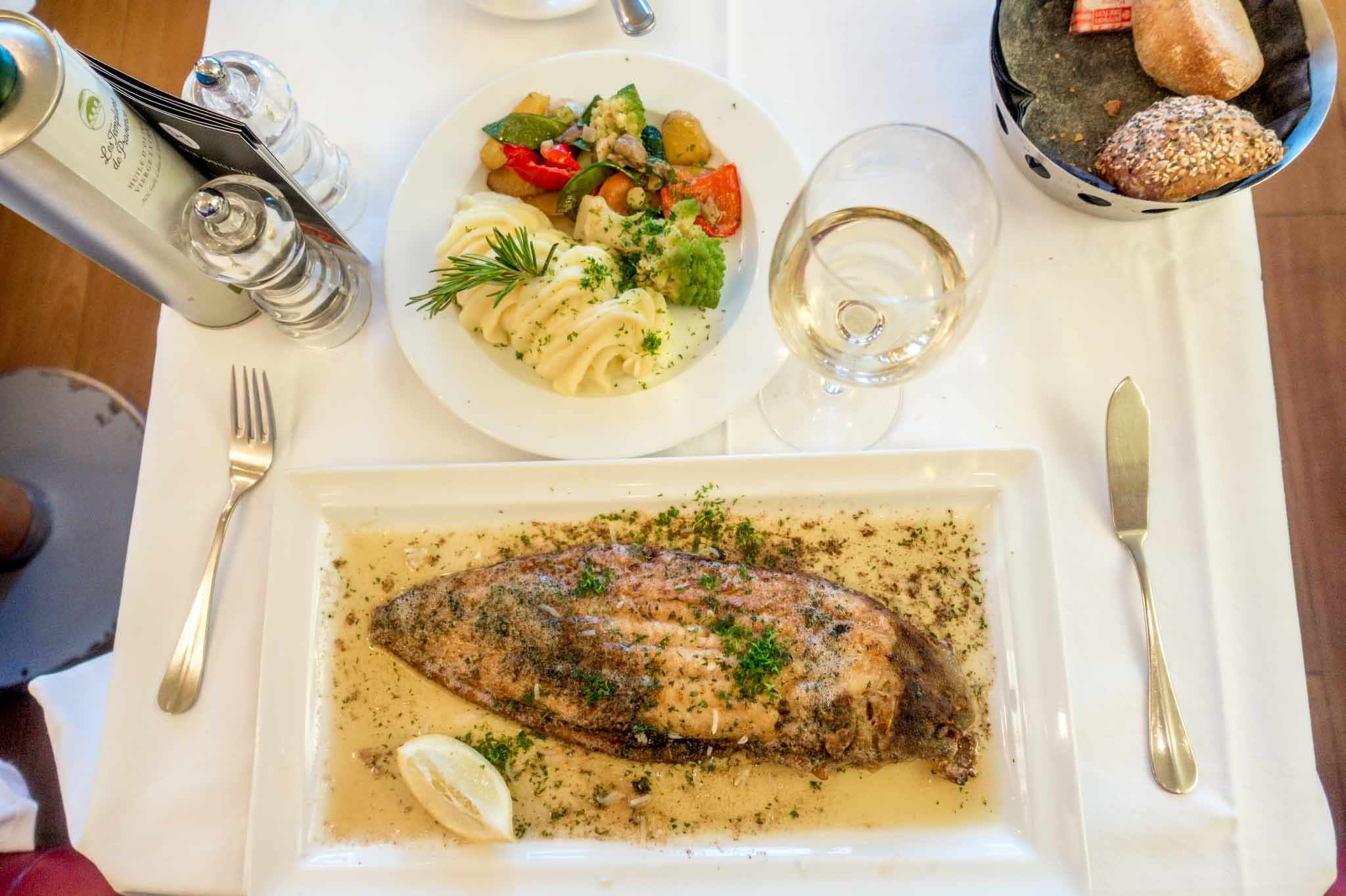 There are lots of great things to eat in Luxembourg