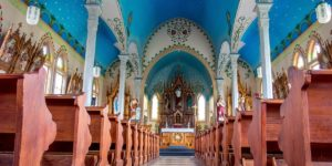 The painted churches of Texas are remarkable examples of artwork by Czech and German settlers in central Texas