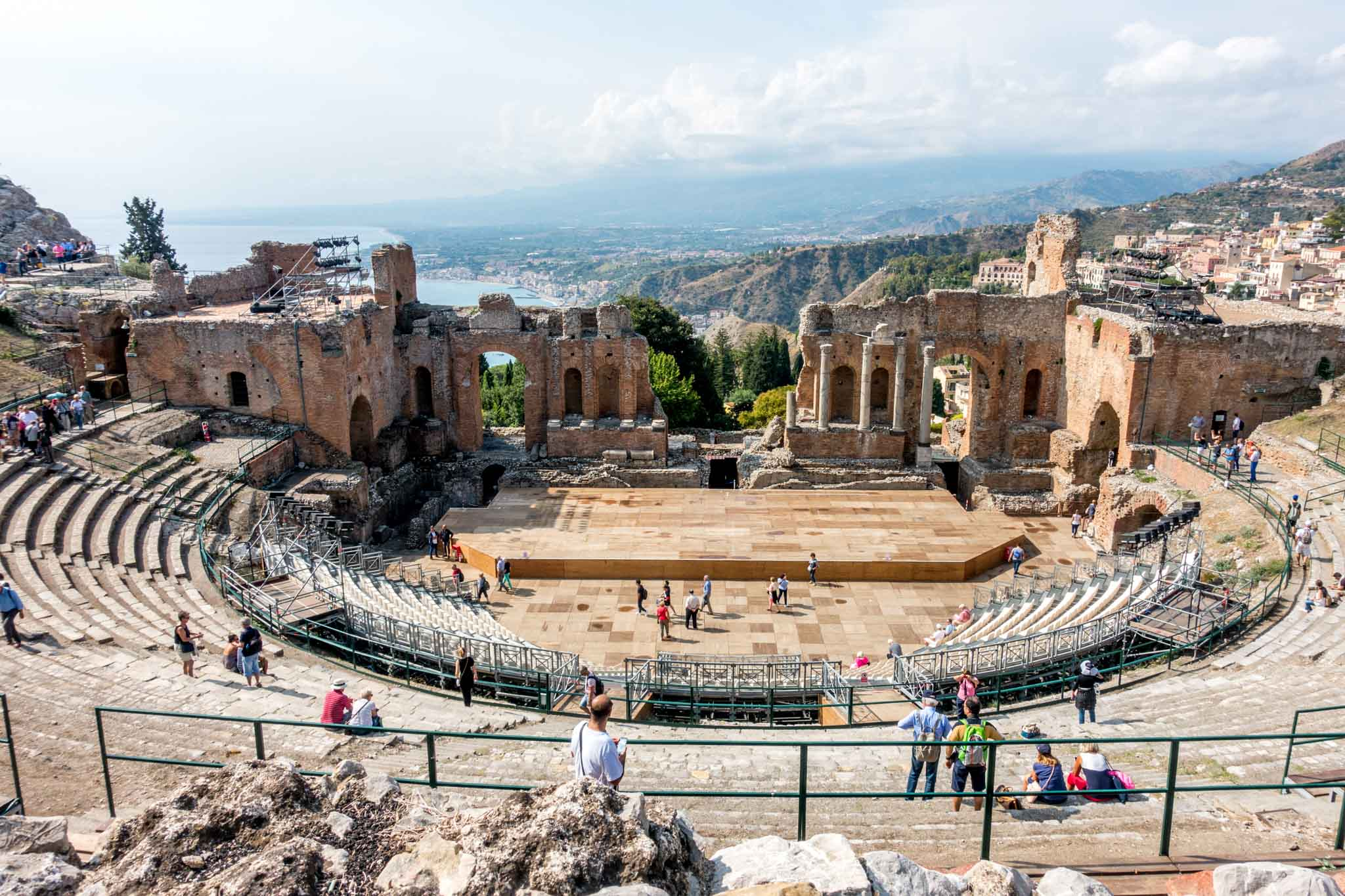 Wondering where to go in Sicily? See the theater of Taormina with one week in Sicily