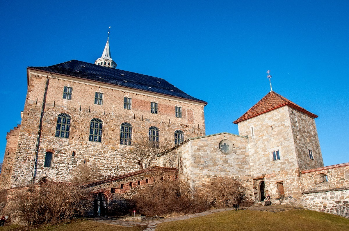 The Akershus Fortress is one of the oldest Norway landmarks