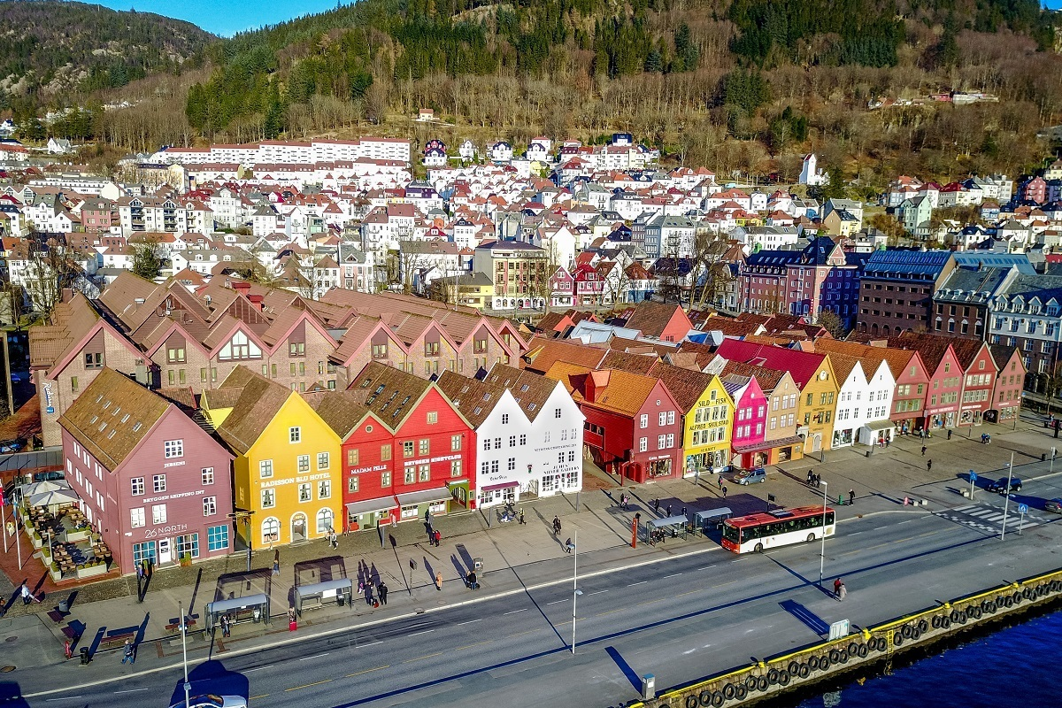 Bergen and its UNESCO site Bryggen are some of the best Norway places to visit