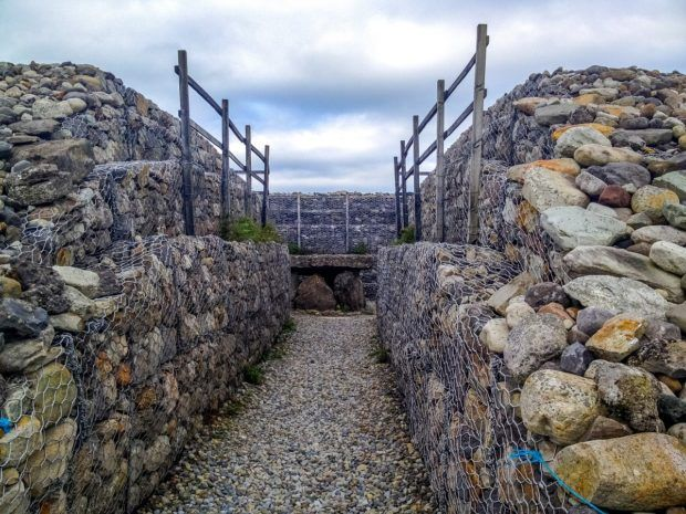 Visit the megalithic cemetery at Carrowmore on a self drive Ireland itinerary