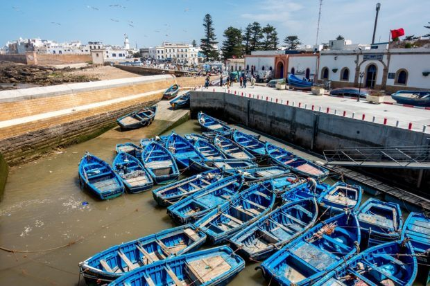 Morocco traveling should include a visit to the seaside city of Essouira