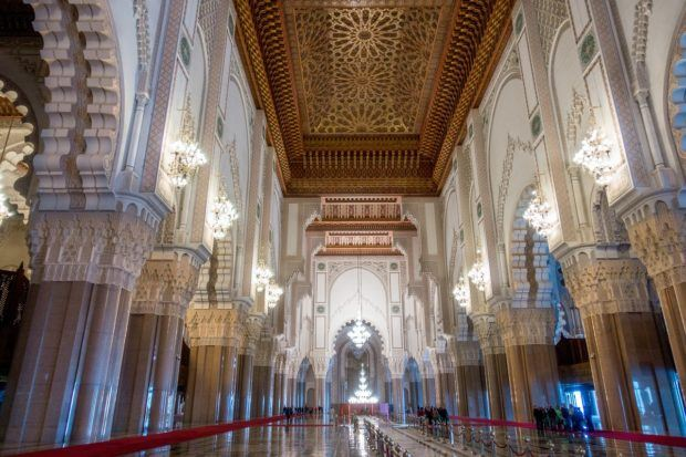 Travel to Morocco advice: if you want to see the inside of a mosque, you'll need to go to Hassan II Mosque in Casablance