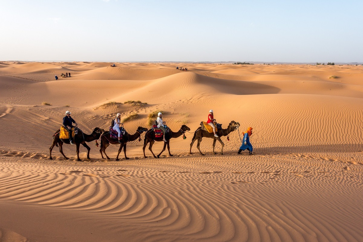 A drip to the Sahara is a must do when you visit Morocco