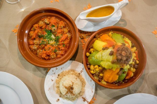 Try all the traditional Moroccan food like kefta and couscous on your trip to Morocco
