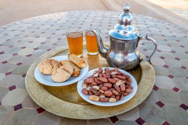 Mint tea will be a staple of your Morocco trip, but other types of tea are also served