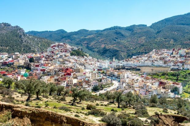 Moulay Idriss makes a lovely stop when visiting Marocco