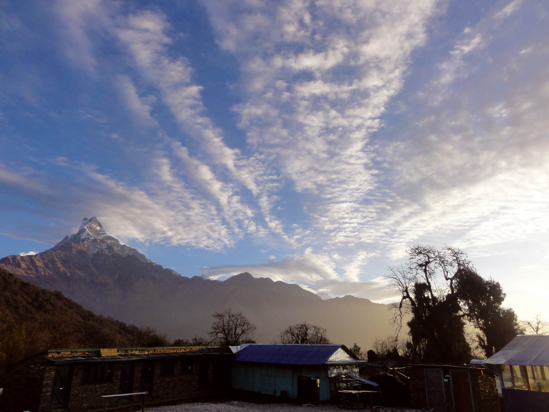 The Annapurna Circuit Trek during the Nepal trekking season.  Hiring one of the best Nepal trekking companies make the experience much easier.  Photo courtesy of World Expeditions.