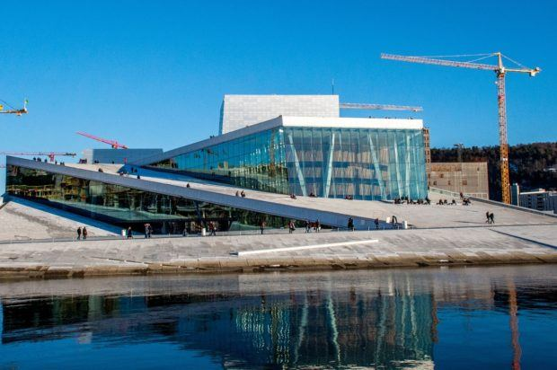 Visit Norway tourist attractions like the Oslo Opera House