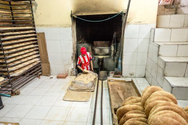 One of our top Morocco travel tips is to stop by a local bakery for fresh bread