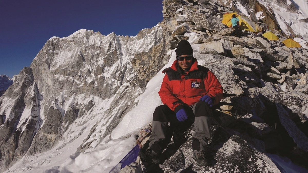 It's hard to define Sherpa in Nepal.  It's a profession, but also an ethnic group.  The Sherpas Nepal do dangerous work and make the trekking experience better for visitors.  Photo courtesy of World Expeditions.