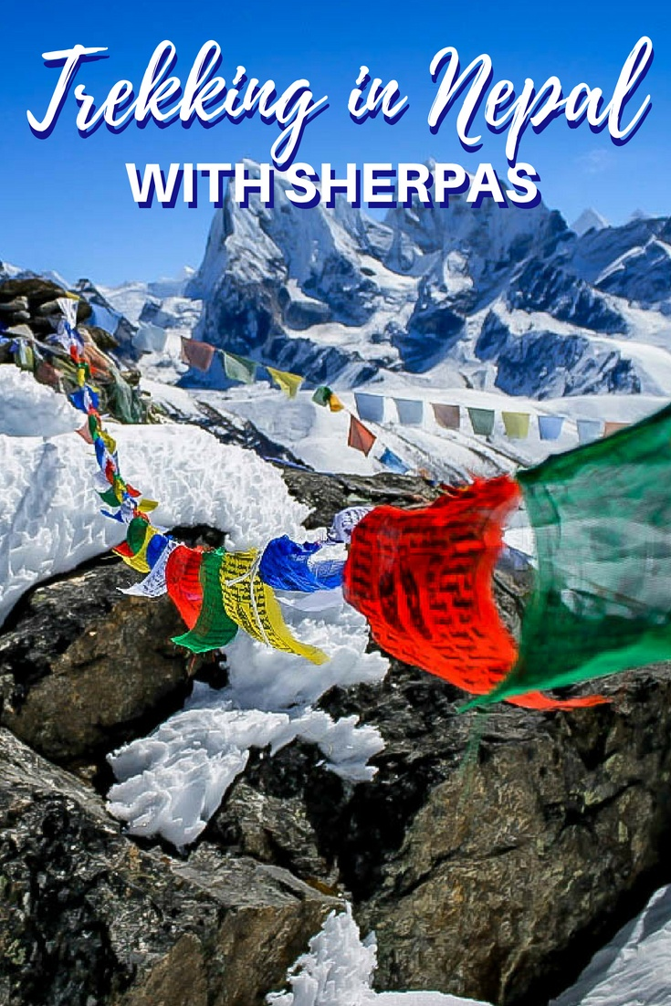 Trekking in Nepal with sherpas is a life-changing experience.