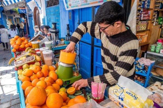 Our best travel advice for Morocco -- indulge in all the cheap fresh fruit and vegetables