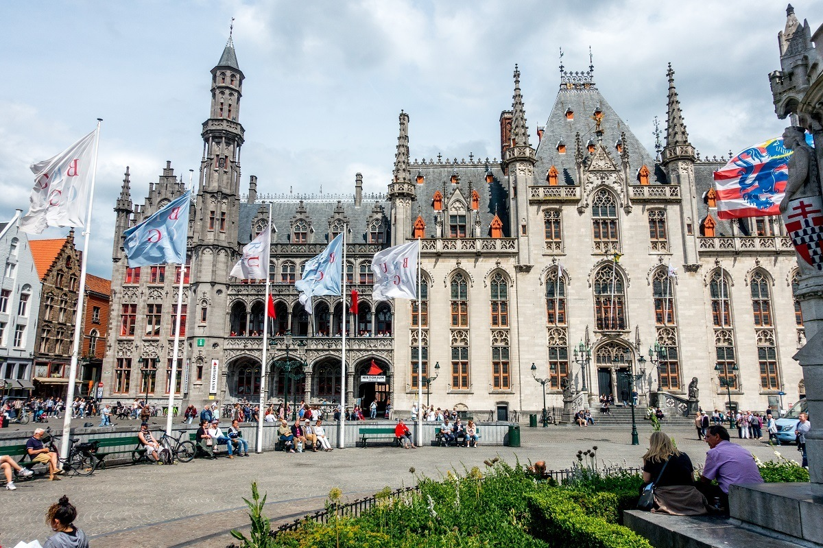 Seeing beautiful Bruges is a must when you visit Belgium. Don't miss the Markt Square.