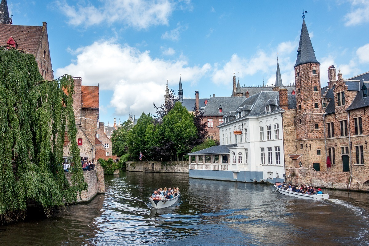 A Bruges canal tour helps make it one of the best places to visit in Belgium