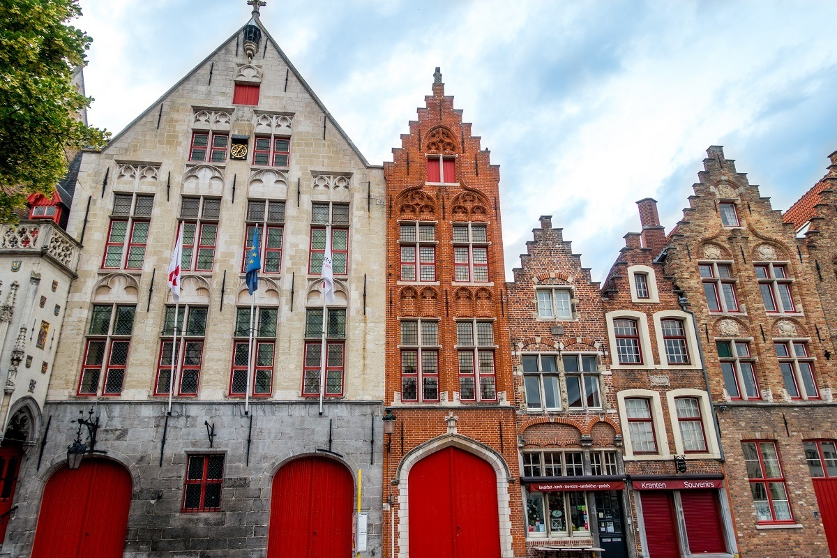 Seeing the buildings in the Hansa Quarter is one of the fun Bruges things to do
