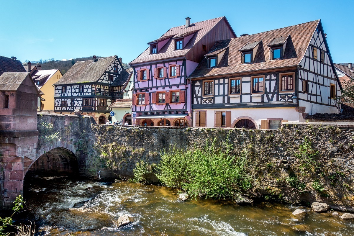 Visiting Kaysersberg is a highlight of Alsace travel
