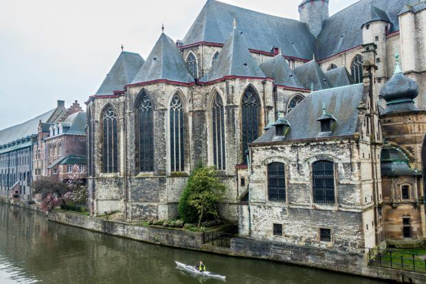 See St. Michael's Church when you visit Gent in Belgium