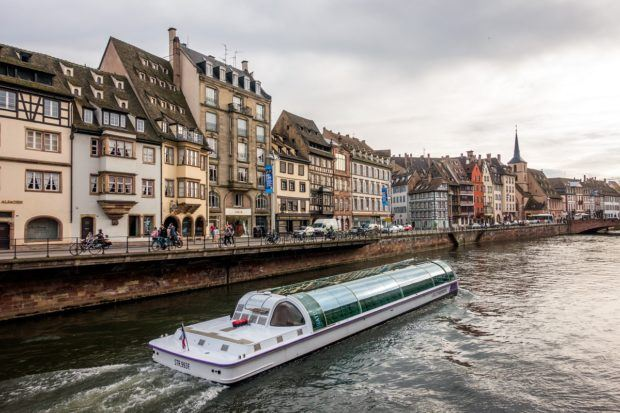 A canal cruise is a unique way to see Strasbourg Alsace