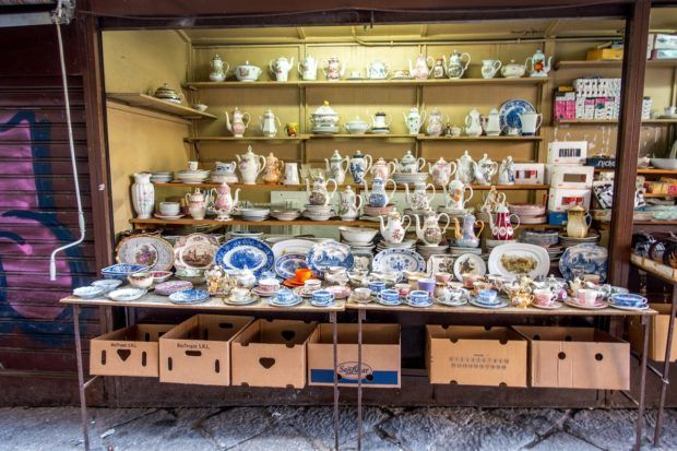 La Vuccaria, the smallest of the Palermo markets, has a wide variety of merchandise