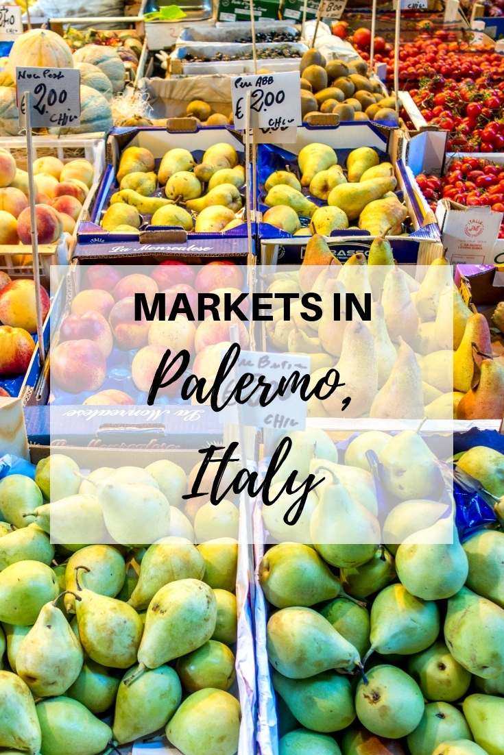Full of fresh vegetables, street food, and tons of local character, the street markets of Palermo are worth a stop when you visit Sicily.