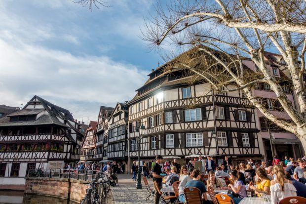 Petite France is one of the prettiest part of Strasbourg