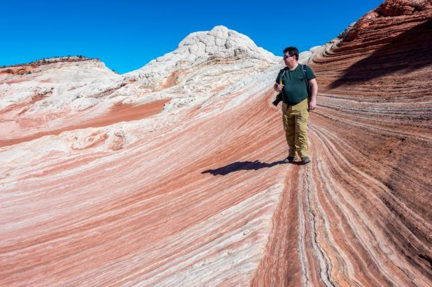 The Vermilion Cliffs National Monument (sometimes mistakenly called the Vermilion Cliffs National Park) is in the heart of the West's Grand Circle Tour.  White Pocket is the perfect spot for some landscape photography in Arizona.
