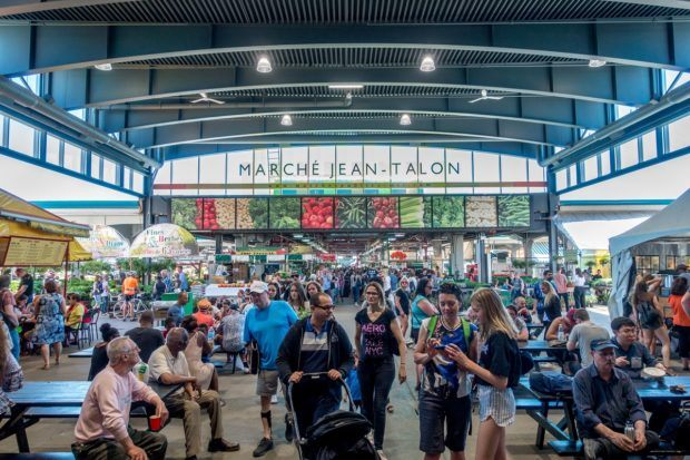 Jean-Talon Market is one of the top things to see in Montreal Canada