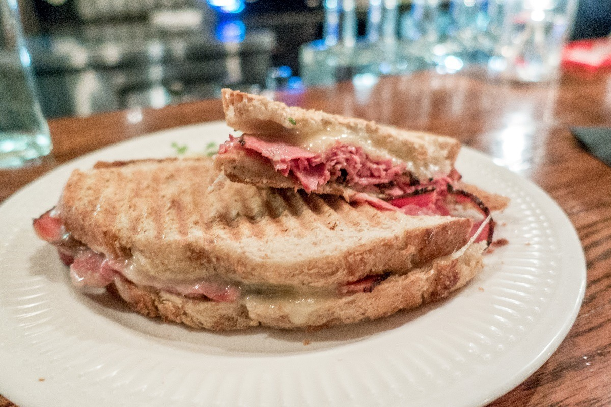 Try a smoked meat sandwich when visiting Montreal