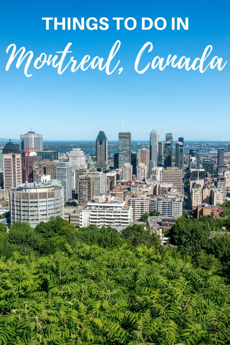 From exploring the boutiques and brunch spots of Mile End to taking in the panorama at the top of Mount Royal, there are so many fun things to do in Montreal, Canada. #travel #quebec