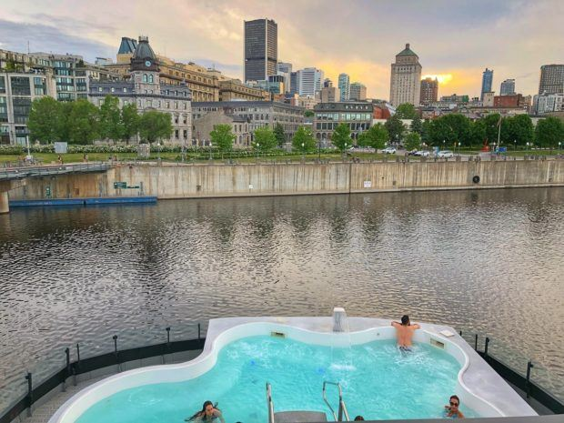 The Bota Bota spa is one of the top Montreal places to visit to relax